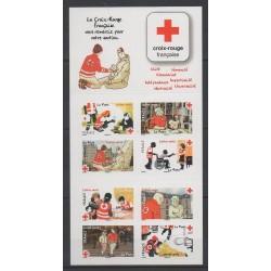 France - Booklets - 2016 - No BC1270 - Santé ou Croix-Rouge