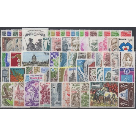France - 1978 - Nb 1962/2027