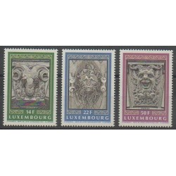 Luxembourg - 1992 - Nb 1249/1251 - Art