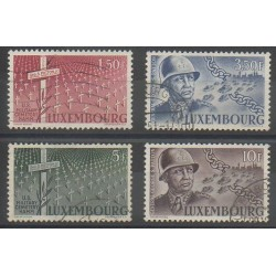 Luxembourg - 1947 - Nb 398/401 - Second World War - Used