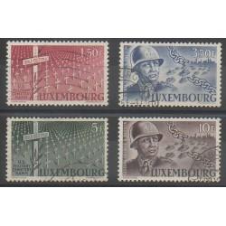 Luxembourg - 1947 - No 398/401 - Seconde Guerre Mondiale - Oblitérés