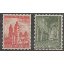 Luxembourg - 1953 - No 473/474 - Églises - Neufs avec charnière