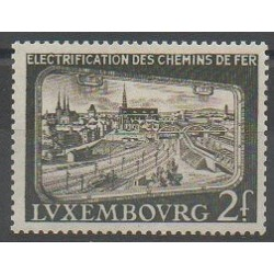 Luxembourg - 1956 - Nb 517 - Trains