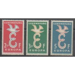 Luxembourg - 1958 - Nb 548/550 - Europa