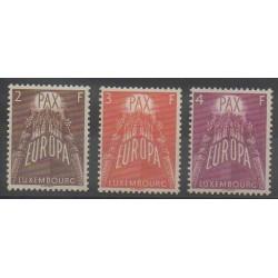 Luxembourg - 1957 - Nb 531/533 - Europa