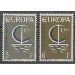 Luxembourg - 1966 - Nb 684/685 - Europa
