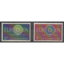 Luxembourg - 1960 - Nb 587/588 - Europa