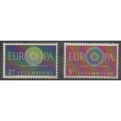 Luxembourg - 1960 - No 587/588 - Europa