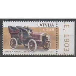 Lettonie - 2017 - No 990 - Voitures