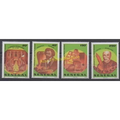 Senegal - 1998 - Nb 1285U/1285X- Celebrities