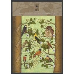 Lienchtentein - 2011 - Nb 1539/1548 - Birds - Endangered species - WWF