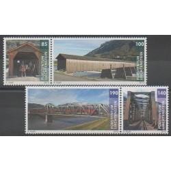 Liechtenstein - 2013 - No 1612/1615 - Ponts