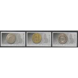 Liechtenstein - 2014 - No 1652/1654 - Monnaies, billets ou médailles