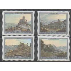 Liechtenstein - 2011 - No 1551/1554 - Châteaux