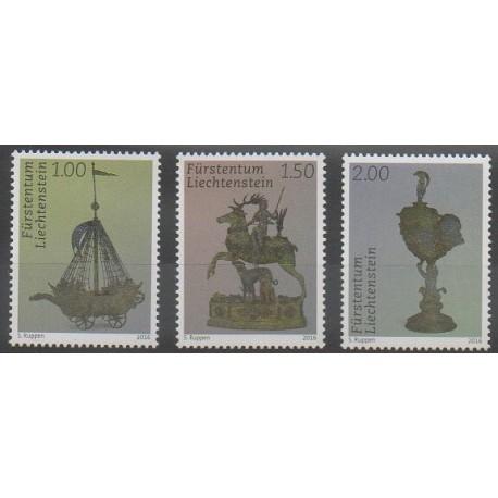 Liechtenstein - 2016 - No 1743/1745 - Art