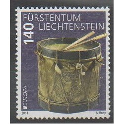 Liechtenstein - 2014 - No 1642 - Musique - Europa