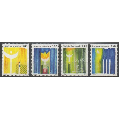 Liechtenstein - 2013 - No 1636/1639 - Noël