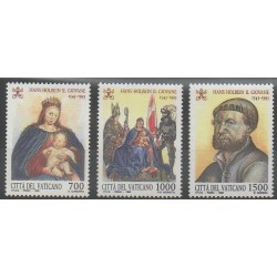 Vatican - 1993 - Nb 966/968 - Paintings