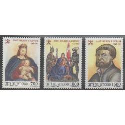 Vatican - 1993 - No 966/968 - Peinture