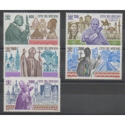 Vatican - 1994 - No 990/994 - Papauté