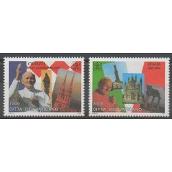 Vatican - 1995 - Nb 1023/1024 - Pope