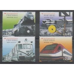 Portugal - 2006 - Nb 3089/3092 - Trains
