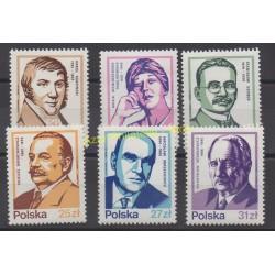 Pologne - 1983 - No 2669/1674 - Célébrités