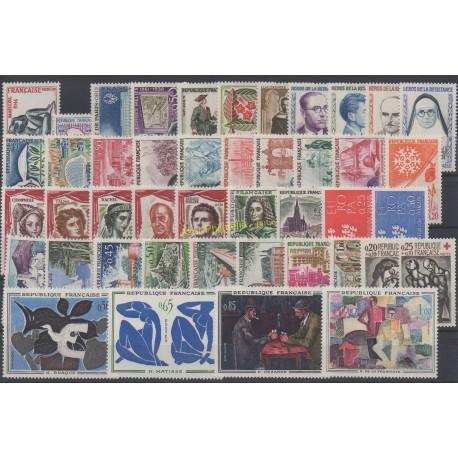 France - 1961 - No 1281/1324