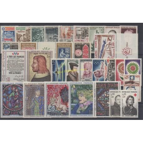 France - 1964 - Nb 1404/1434