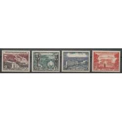 Afrique Equatoriale Française - 1956 - No 232/235