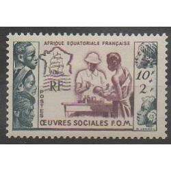 French Equatorial Africa - 1950 - Nb 227 - Mint hinged