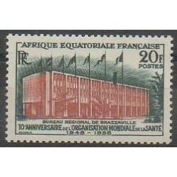 Afrique Equatoriale Française - 1958 - No 242