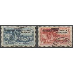 Afrique Equatoriale Française - 1936 - No 25/26 - Oblitérés