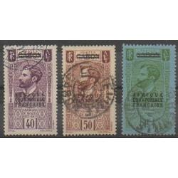 Afrique Equatoriale Française - 1936 - No 22/24 - Oblitérés