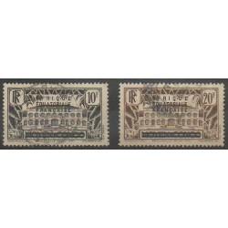 Afrique Equatoriale Française - 1936 - No 15/16 - Oblitérés