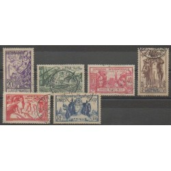 Afrique Equatoriale Française - 1937 - No 27/32 - Oblitérés