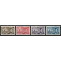 Afrique Equatoriale Française - 1938 - No 66/69 - Neufs avec charnière