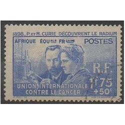 Afrique Equatoriale Française - 1938 - No 63 - Oblitéré