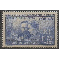 French Equatorial Africa - 1938 - Nb 63 - Mint hinged
