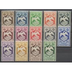 Afrique Equatoriale Française - 1941 - No 141/154 - Neufs avec charnière