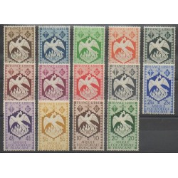Afrique Equatoriale Française - 1941 - No 141/154