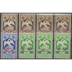 Afrique Equatoriale Française - 1945 - No 198/205