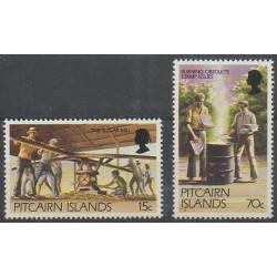 Pitcairn - 1981 - Nb 205/206