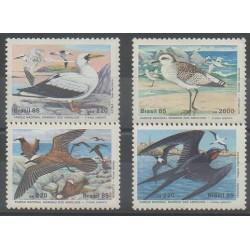 Brésil - 1985 - No 1734/1737 - Oiseaux