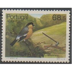 Portugal (Azores) - 1986 - Nb 365 - Birds - Environment - Europa