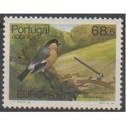 Portugal (Açores) - 1986 - No 365 - Oiseaux - Environnement - Europa
