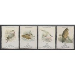 Portugal (Açores) - 1988 - No 381/384 - Oiseaux