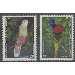 Nouvelle-Calédonie - 1982 - No 462/463 - Oiseaux