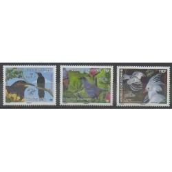 Nouvelle-Calédonie - 2007 - No 1004/1006 - Oiseaux