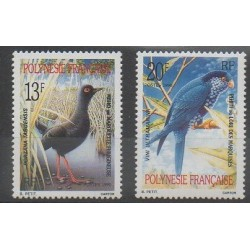 Polynésie - 1990 - No 360/361 - Oiseaux
